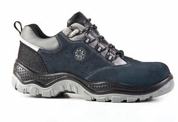 Zapato de seguridad serraje new prisma - Calzado de trabajo ...