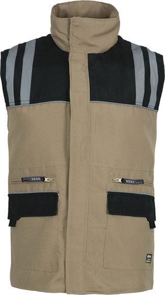 eabd5cfaaf Chaleco multibolsillos Workteam - Ropa de trabajo-Calzado de seguridad.