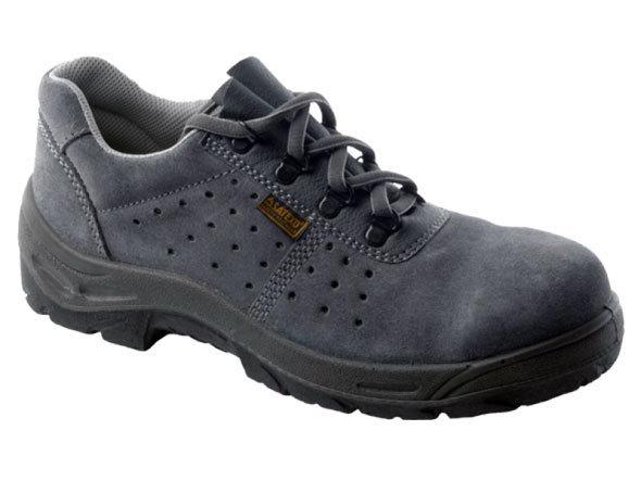 Zapato de seguridad piel de serraje afelpado ropa de - Calzado de trabajo ...