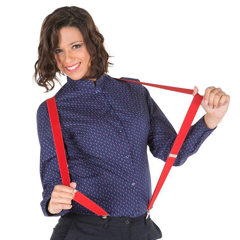 Camisas de camareras estampadas - Ropa de hosteleria barcelona ...