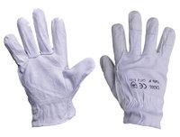 5971918f5c Guantes de trabajo mixto piel y algodón
