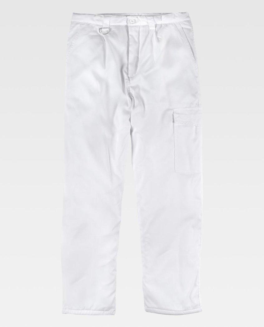 Pantalon De Trabajo Acolchado Workteam B1410 Comprar Online Ferrolabor Es